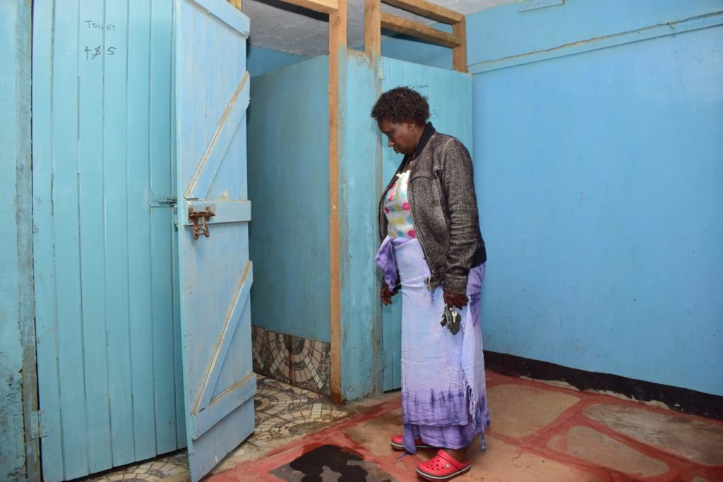 Citywide access to water and sanitation services in Kenya